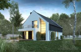 Дома в . Автор – architekt SZYMON PLESZCZAK - ARCHI PL PRACOWNIA ARCHITEKTURY I WNĘTRZ