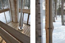 Дом Ловушка для солнца: Гостиная в . Автор – Проект ОБЛО