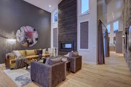 53 Paintbrush Park: modern Living room by Sonata Design