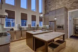 53 Paintbrush Park: modern Kitchen by Sonata Design