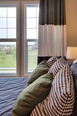 121 Hillcrest Drive: modern Bedroom by Sonata Design
