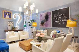Гостиная в . Автор – Interdesign Interiores