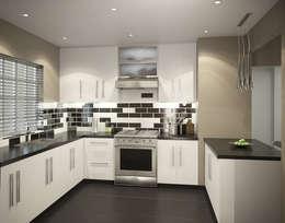Projekty,  Kuchnia zaprojektowane przez HEID Interior Design