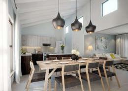 Ruang Makan by HEID Interior Design