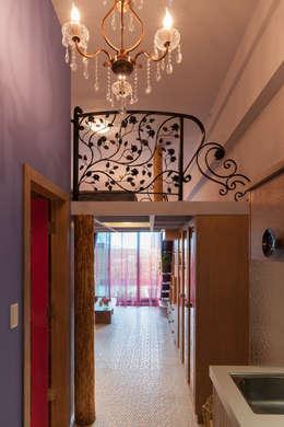 Hoteles de estilo  por 磨設計