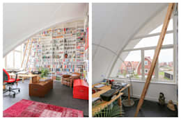 Рабочие кабинеты в . Автор – Brand BBA I BBA Architecten