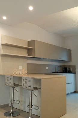 modern Kitchen by Marlegno