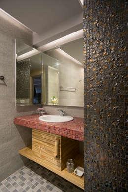 ห้องน้ำ by 磨設計