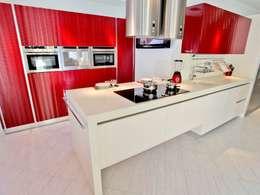 ห้องครัว by Cocinas Sánchez y Sandoval