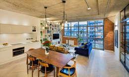 Projekty,  Salon zaprojektowane przez Warret & Jullion