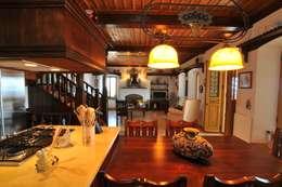 Ebru Erol Mimarlık Atölyesi – YARBASAN TAŞ EVLERİ: akdeniz tarzı tarz Mutfak