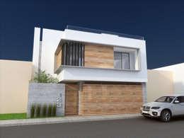 Fachadas de casas estilo industrial y casas tipo loft for Casa minimalista industrial