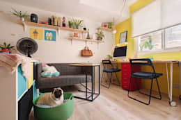 Рабочие кабинеты в . Автор – 一葉藍朵設計家飾所 A Lentil Design