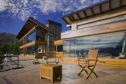 Vivienda Unifamiliar: Casas de estilo moderno por Sidoni&Asoc