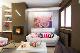 Salas de entretenimiento de estilo moderno por Rachele Biancalani Studio