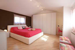 غرفة نوم تنفيذ Rachele Biancalani Studio