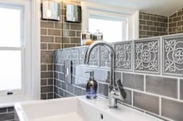 Abbeville Road: modern Bathroom by Orchestrate Design and Build Ltd.