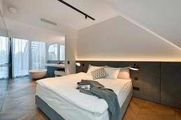 Dormitorios de estilo moderno de FADD Architects