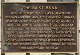 The Saint Anna, New Orleans, LA:  Hotels by studioWTA