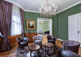 غرفة المعيشة تنفيذ AAB Die Raumkultur GmbH & Co. KG