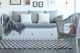 Projekty,  Salon zaprojektowane przez Perfect Home Interiors