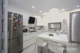 Projekty,  Kuchnia zaprojektowane przez melania de masi architetto