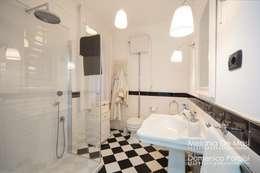 10 idee per un pavimento in un piccolo bagno - Bagni Moderni Bianchi E Neri