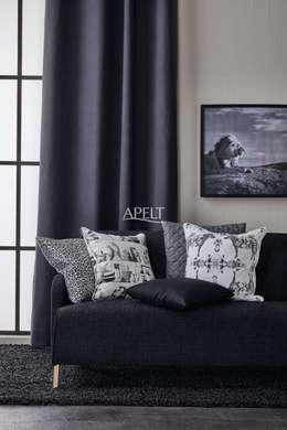غرفة المعيشة تنفيذ APELT STOFFE