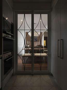Cocinas de estilo clásico por 大荷室內裝修設計工程有限公司