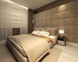Habitaciones de estilo moderno por Marina Ortiz - mo arquitetura