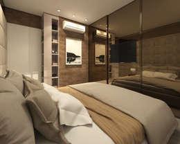 modern Bedroom by Marina Ortiz - mo arquitetura