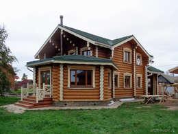 коттедж в Завидово: Дома в . Автор – Архитектор Михаил Кузин