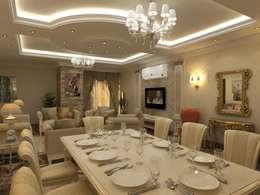 تشطيب شقة :  غرفة السفرة تنفيذ الرواد العرب