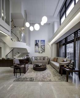 Гостиная в . Автор – 大荷室內裝修設計工程有限公司