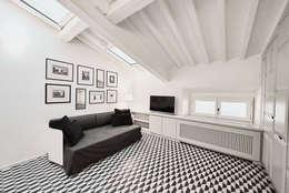 Salas de estar modernas por Zeno Pucci+Architects