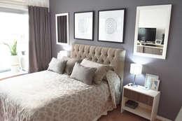 Dormitorio Monoambiente/ Studio Apartment:  de estilo  por Estudio Nicolas Pierry