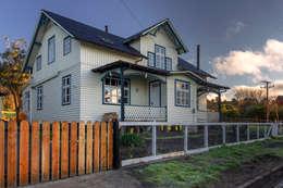 Casas de estilo escandinavo por Moraga Höpfner Arquitectos