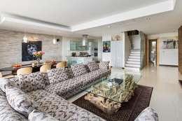 Apartment Robertson - Pembroke: modern Living room by Covet Design