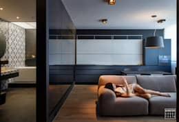 Livings de estilo minimalista por IGOR SIROTOV ARCHITECTS