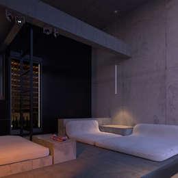 ПРОЕКТИРОВАНИЕ И ДИЗАЙН ИНТЕРЬЕРА PS1H: Спальни в . Автор – IGOR SIROTOV ARCHITECTS