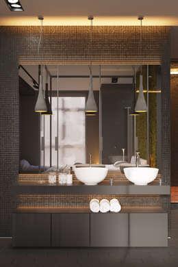 浴室 by IGOR SIROTOV ARCHITECTS
