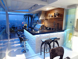 Terrazas  de estilo  por Paula Carvalho Arquitetura