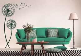 Salon de style de style Moderne par K&L Wall Art
