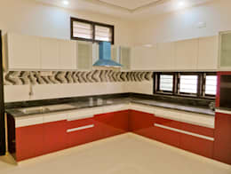 GSP Interiors : modern Kitchen by Space Collage