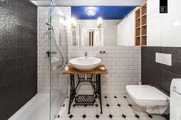 浴室 by Pracownie Wnętrz Kodo