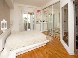 eclectic Bedroom by Fabiola Ferrarello architetto