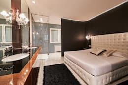 moderne Slaapkamer door Zeno Pucci+Architects