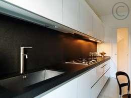 Cocinas de estilo moderno por Zeno Pucci+Architects