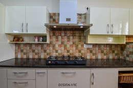 Interior Design Bangalore 2BHK Apartment : modern Kitchen by Design Arc Interiors