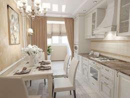 Квартира: Кухни в . Автор – Первое Дизайн-Бюро